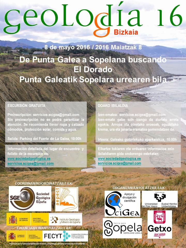 poster Geolodia 16 Bizkaia